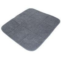 40cmx46cm Microfiber Dish Cup Bottle Drying Mat For Kitchen Tableware Bar Microfiber Cushion Pad