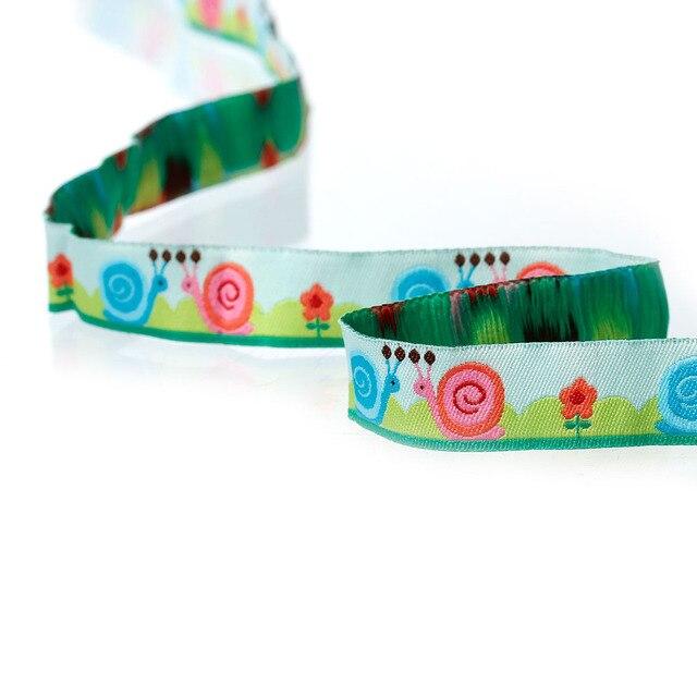 Doreenbeads poliéster tejido jacquard cinta multicolor Caracol ...