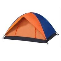 Camping Tent All Weather Rainproof Double Door Outdoor Tent For Camping Party 200X150X110Cm Outdoor Camping Tent Waterproof Camp