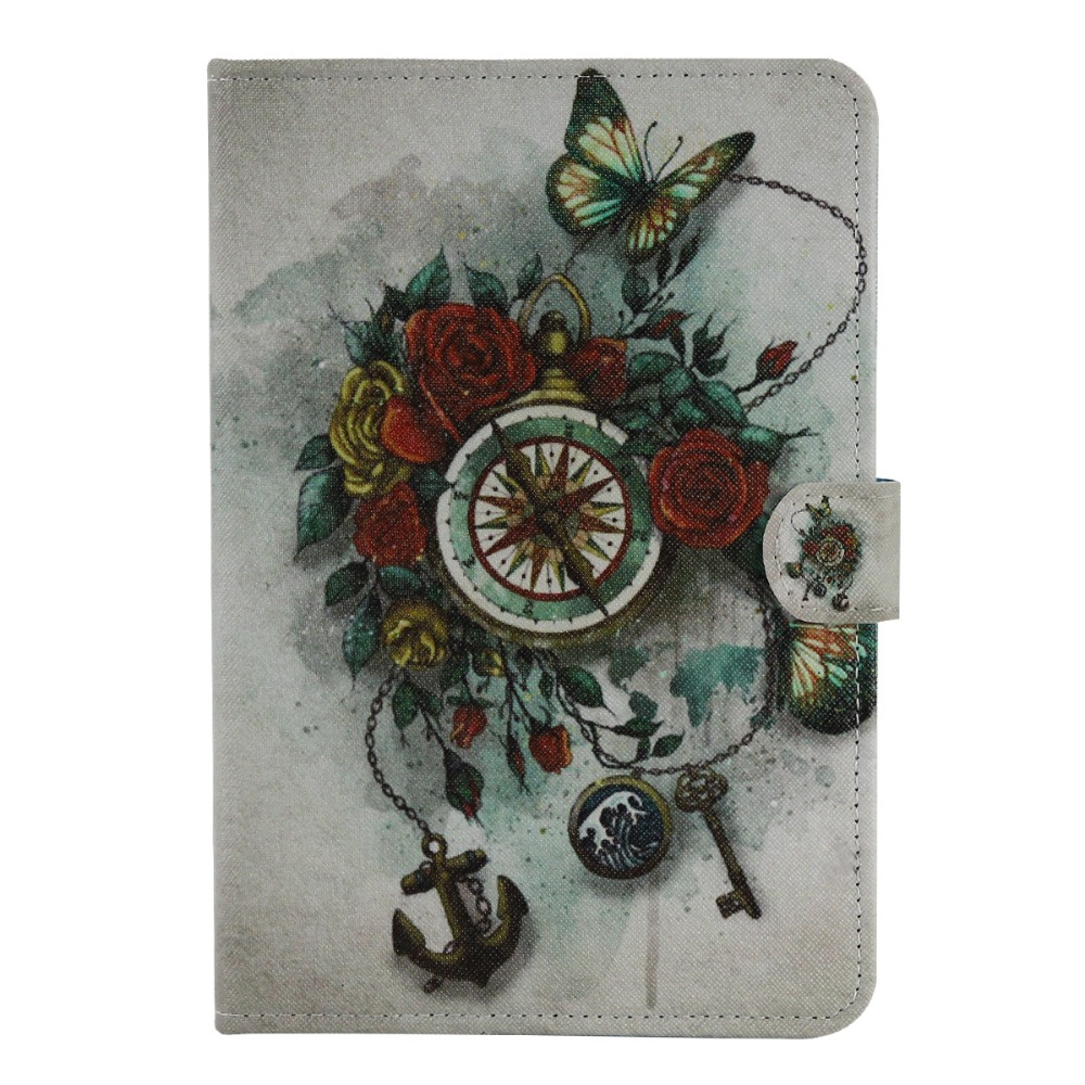 Cartoon cover For iPad mini 1 2  3 case magnetic Tablet flip pu Leather case For Apple iPad mini + Stylus pen boys floral print tee