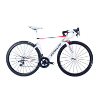 2016 Hot Sell Sobato Complete Carbon Fiber Road Bike Racing 18 20 22 Speed Road Bicycle