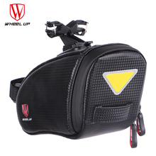 Wheel Up Bicycle Saddle Bag Rainproof Reflective MTB Mountain Road Bike Bag Cycling Rear Seatpost Bag Bicycle Accessories K3505