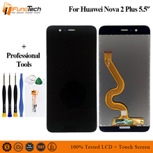 100% Tested For Huawei Nova 2 Plus 2+ BAC-AL00 BAC-L21 BAC-TL00 LCD Display Touch Screen Digitizer Assembly Replacement
