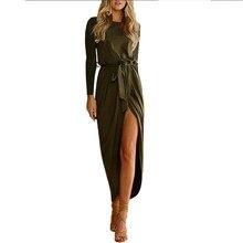 Здесь можно купить  Mrs win 2017 fashion sexy Irregular dress   sleeve Layering Department of belt Elegant temperament Woman