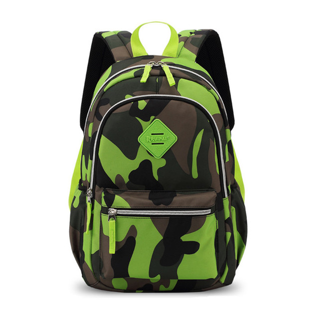 90b70318ec59 Boys Girls Kids Primary School Backpack Camouflage Children Student Travel Casual  Backpacks Daypack Mochila Bag