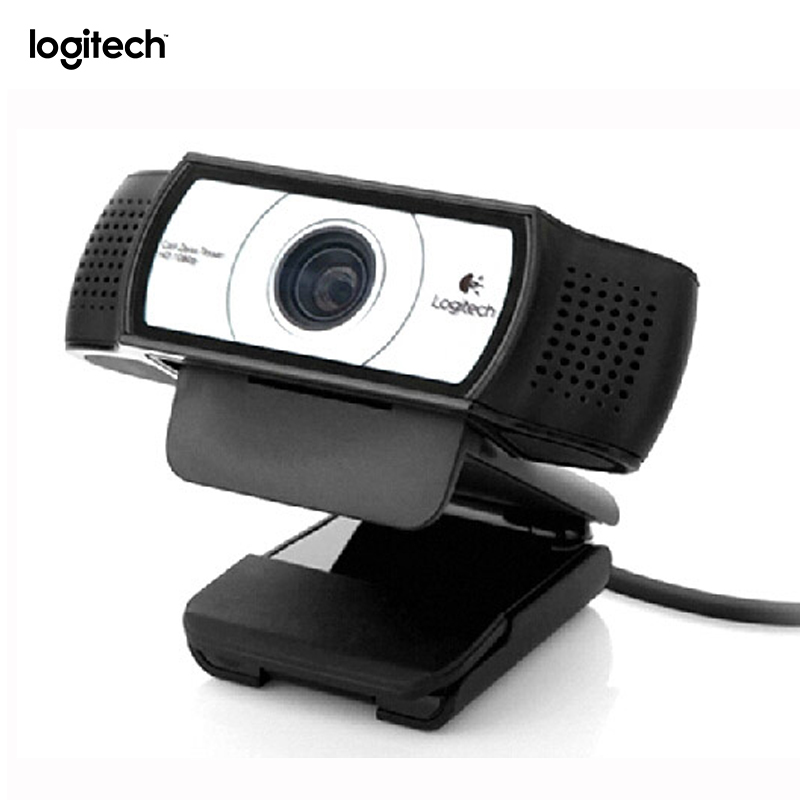 Image 2 - Original Logitech C930e HD Smart 1080P Webcam with Cover for Computer Zeiss Lens USB Video camera 4 Time Digital Zoom Web cam-in Webcams from Computer & Office