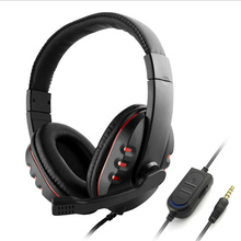 Waterproof Gaming Headset Headphone w/ Microphone Volume Control for Sony PS4 PlayStation 4