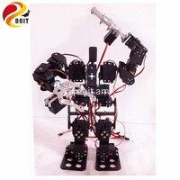 Official DOIT 15DOF Humanoid Robot Feet Walking Robot A Full Set Of Servo Stent Accessories 2PCS