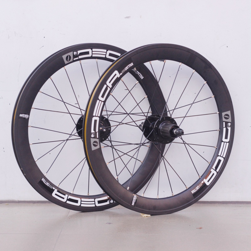 Aluminum Mini Velo Wheelsets Deca 20