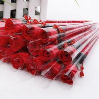 100Pcs Clear Candy Cellophane Cone Plastic Cello Sweet Popcorn Flower Birthday Wedding Party Gift Bags Sent
