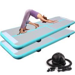 100*60*10 см надувной воздушный сушильный трек Коврик для йоги надувной воздушный тренажерный зал надувной коврик дорожка для домашнего исполь...
