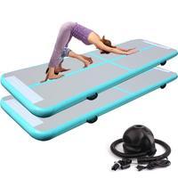 100*60*10cm Inflatable Air Tumble Track Yoga mat Inflatable Air Gym Air mat Track Home use Inflatable martial art gymnastics mat