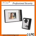 "IR camera door access control wired door bell door intercom 7"" TFT color screen fashionable Handsfree intercom video door phone"