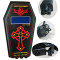New Arrival Black ABS Material UK Plug Dual LCD Pro Digital Tattoo Liner Shader Coffin Machine Gun Power Supply Tool Top Quality