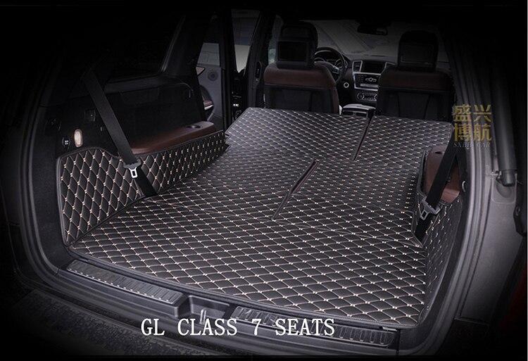 Custom Mercedes Gl350 Gl450 Gl550 7seats Trunk Mats Cargo Liners