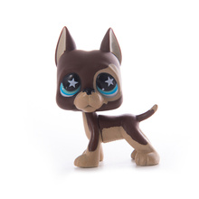 цена LPS Pet Shop Toys Dolls Cat Great Dane Dog Collection Stand Action Figures High Quality littlest Model Toys Gifts Cosplay Toys онлайн в 2017 году