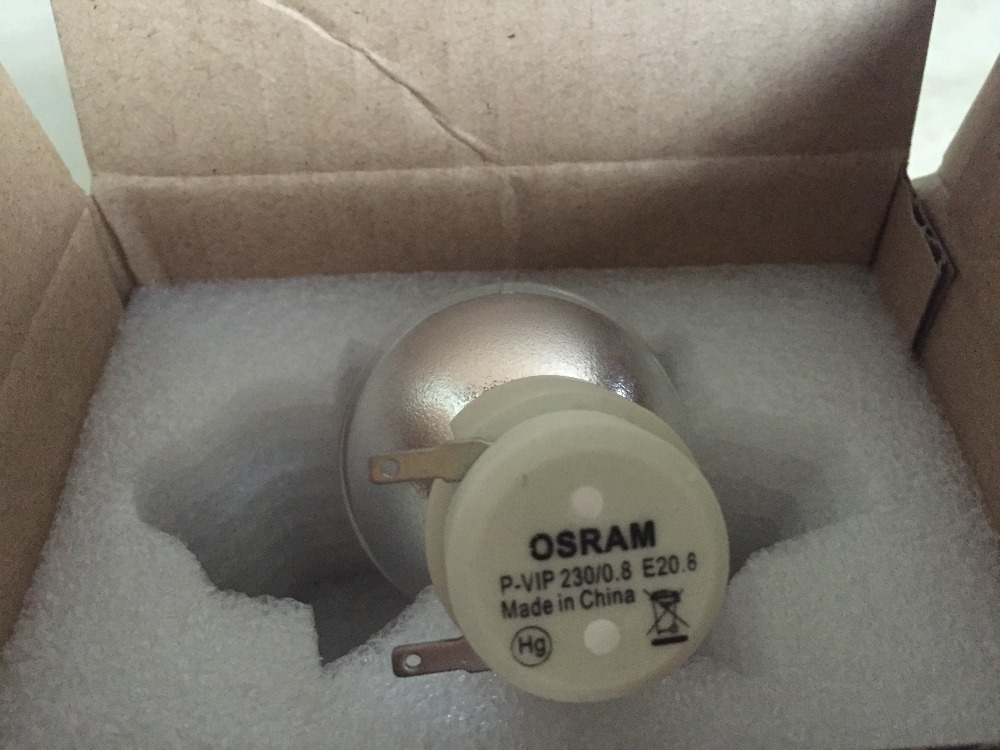 цены New Bare Bulb Lamp For Osram P-VIP 230/0.8 E20.8 / P-VIP 240/0.8 E20.8 / P-VIP 200/0.8 E20.8 For BenQ Projectors