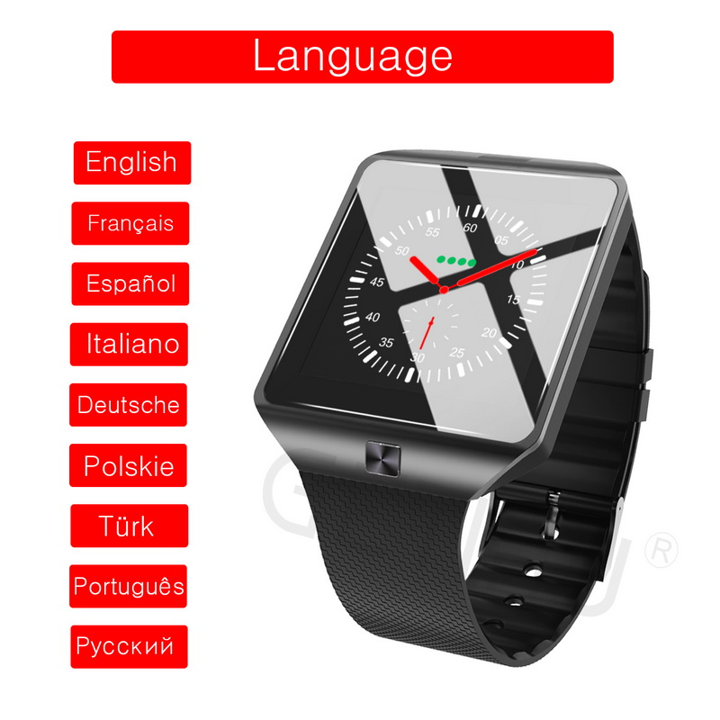 Smart Watch Bluetooth Watches SIM Sport Smartwatch ios Camera For Apple iPhone Android Phone Xiaomi 3