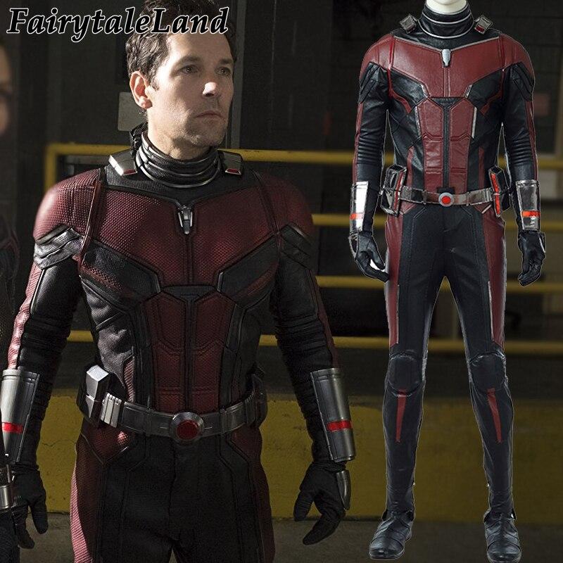 Ant-man 2 Scott Lang Ant-man Cosplay Kostuum Halloween Kostuums Ant-man En De Wesp Cosplay Antman Kostuum Superhero Jumpsuit 2019 Nieuwste Stijl Online Verkoop 50%
