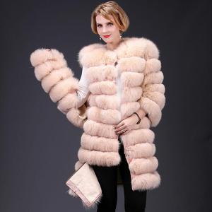 Image 4 - 여자의 새로운 천연 여우 모피 코트 분리형 모피 자켓 다기능 3 에서 하나의 가변 의류 따뜻한 패션 캐주얼 Eu