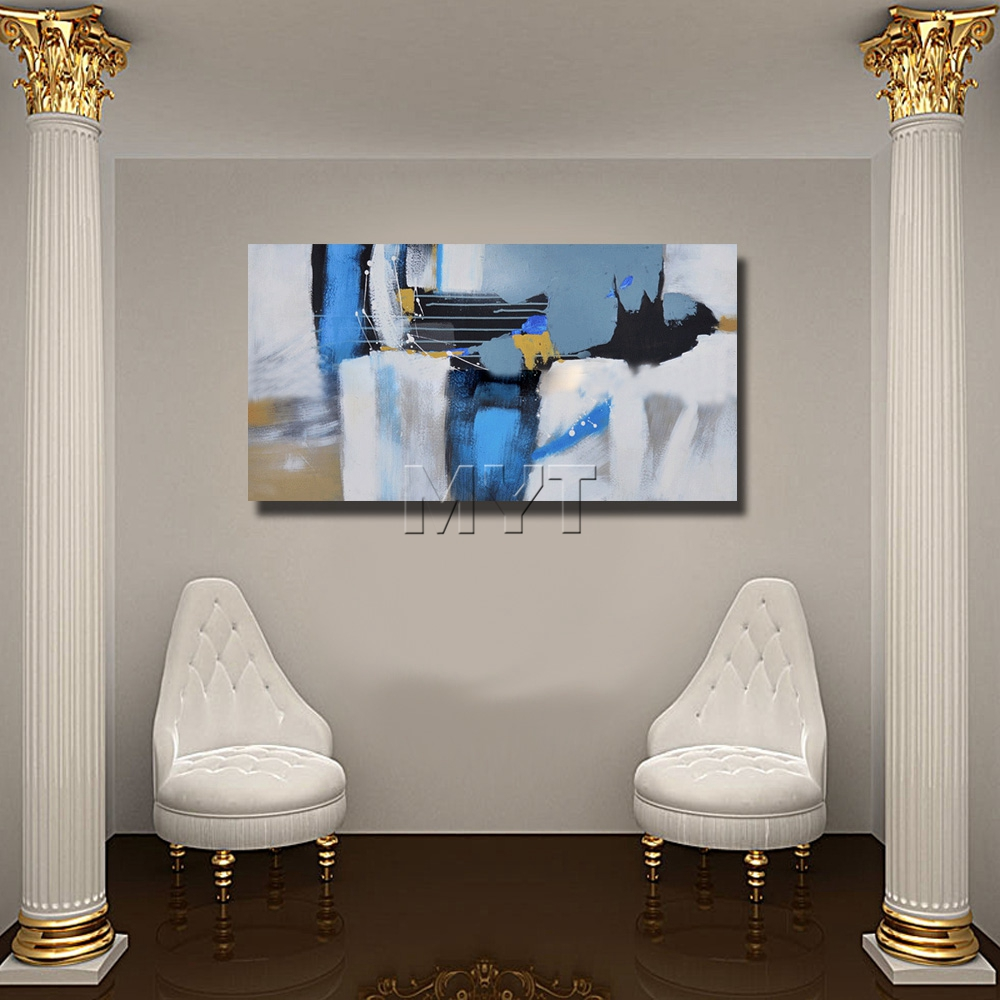 Paintings for Room Decor Abstract Oil Painting on Canvas Handpainted - Home Decor - Photo 4