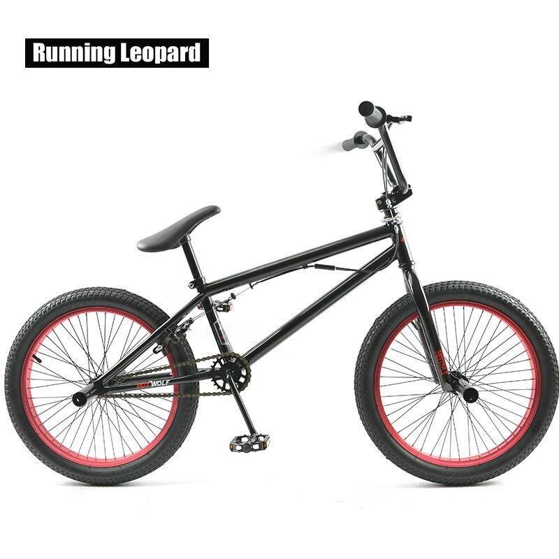 Vélo BMX 20 pouces Sports extrêmes vélo de Performance d'entrée de gamme vélo de rue cascadeur fantaisie vélo de rue étudiant et étudiant