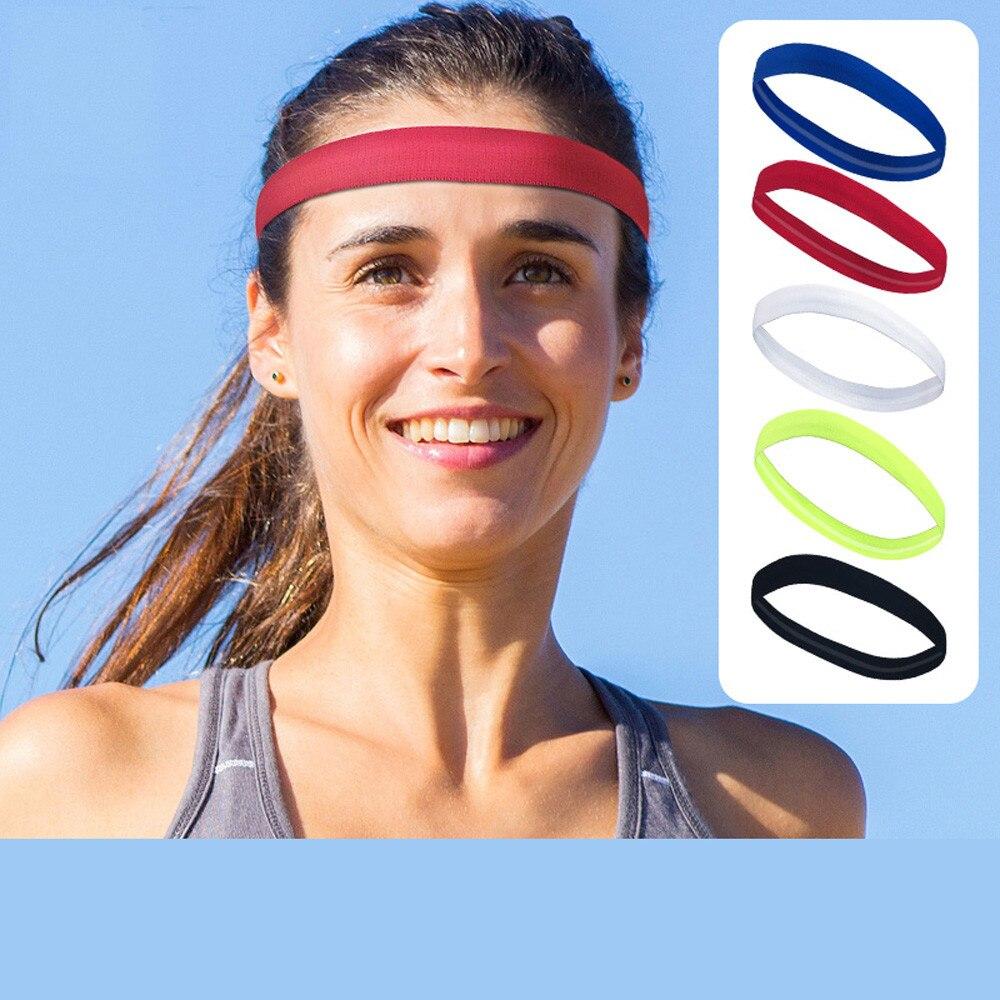 Breathable Yoga Sports Headband Outdoor Cycling Running Fitness Sweatband #JT1