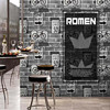 3D Modern Fashion Pvc High Quality Wallpaper Personality Design Hotel Coffee Shop Sofa TV Background 3d