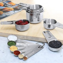 Household Measuring Cup Spoon Set Kitchen Condiment Tools scale Sets