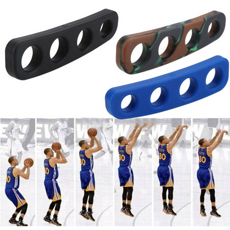 1PCS Silicone Shot Lock Basketball Ball Shooting Trainer Training Accessories Three-Point Size S/M/L For Kids Adult Man Teens