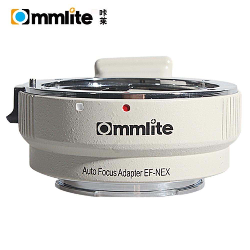 Commlite EF NEX Auto Focus Lens Adapter for Canon EOS EF EF S Lens to Sony E NEX Full Frame A7 A7R A7SII A7RII NEX 7 white color