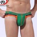 Mens tangas y g cuerdas 2017 hombres sexy ropa interior hombre bajo la cintura de algodón cueca gay jockstraps underwear tanga transparente