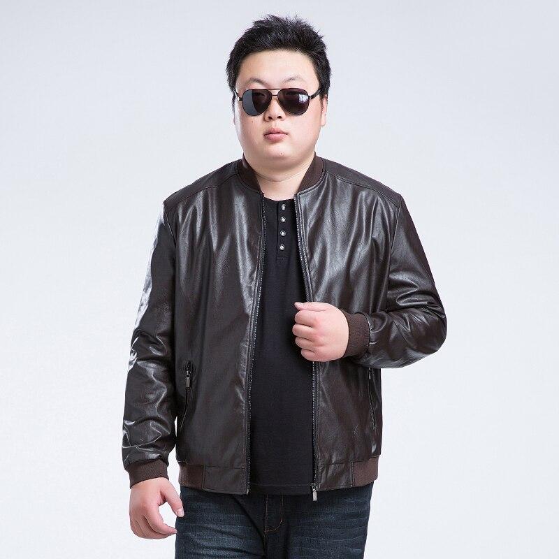 Plus size 9XL 8XL 7XL 6XL 5XL Winter Autumn Brand PU Leather Jacket Men Motorcycle Leather Jackets Overcoat Jaqueta High Quality