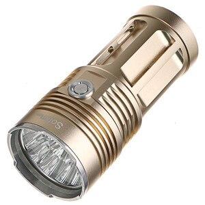 Image 3 - Potente linterna LED T6, 14 x XML, 18650, 18650, táctica, 5 modos, para caza y camping