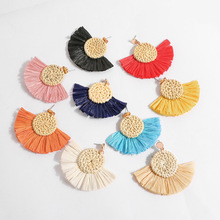 Colorful Tassel Earrings For Women Charm Earings Fashion Jewelry Fame style Wedding Bridal Statement Fringe Earring