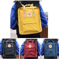 Original Fox Logo Classic Kanken Backpack Bag 2019 Mochila Student Bags Teenager Mini Backpack for Children Waterproof Backpacks