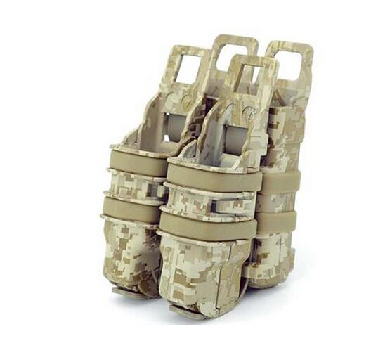 EFOSE New Double Fast Pistol MAG Magazine Pouch Holder Attach Molle System mag 200 в киеве