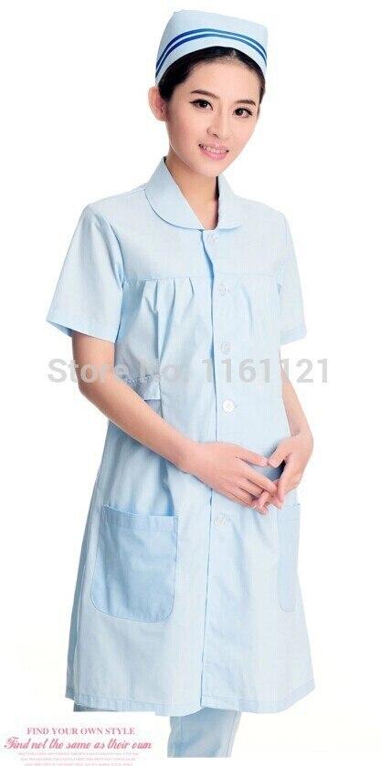 2018 Promotion Hospital Lab Coat Jalecos nurse medical uniform women