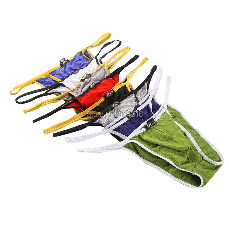 66a9bffae حار بيع مثير الملابس الداخلية 8 ألوان للرجال مشروط ملخصات Cuecas  Calzoncillos هومبر الزلات شحن مجاني 8 قطعة/الوحدة بالجملة