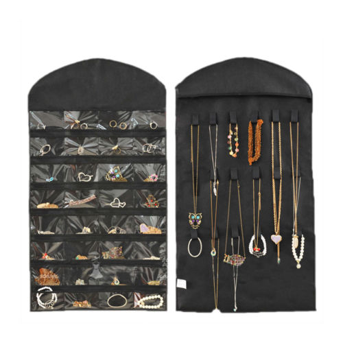 Ny Hanging Organizer Opbevaringsboks Kjole 32 Pocket Holder Displaybag
