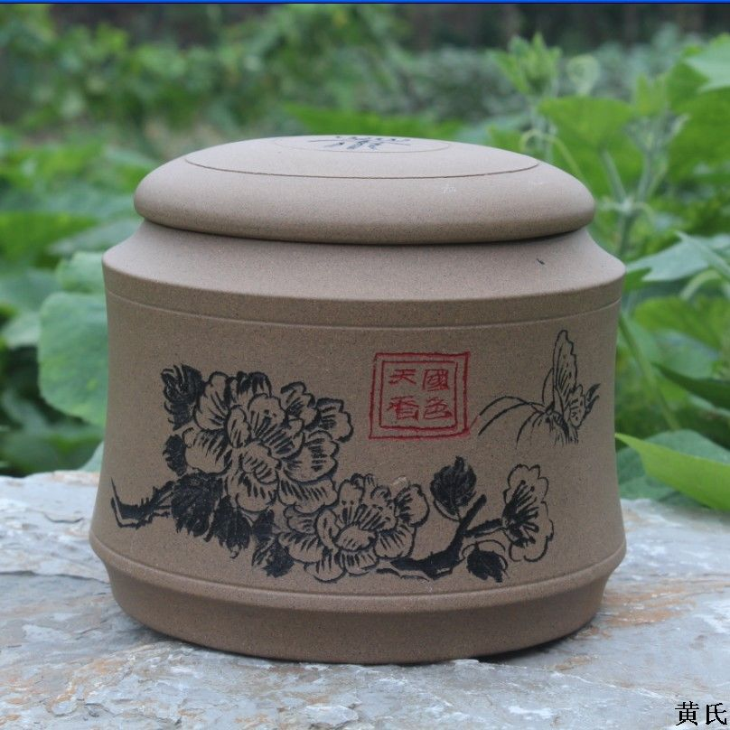 The supply tank sealing Zisha tea pot authentic style full Zisha mud mixed batch yixing zisha tea caddy authentic fine workmanship high grade tea pot square box mixed batch