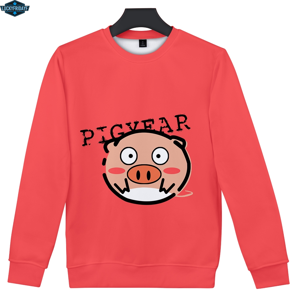 Luckyfridayf Lucky Pig 3d Sweatshirt Women 2019 Fashion Casual Hoodie Sweatshirt 3d Kawaii Long Sleeve Sweatshirt Clothes 4xl Yet Not Vulgar Hoodies & Sweatshirts