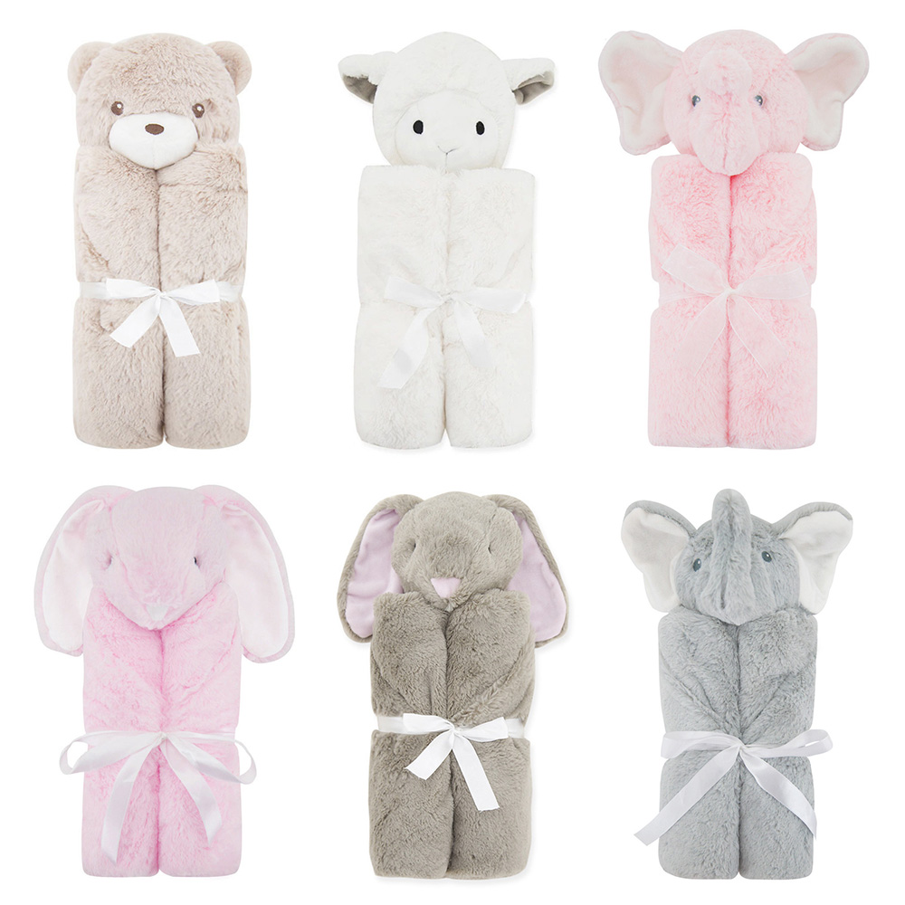 1Pc Plush Baby Swaddles Soft Newborn Blankets Bath Gauze Infant Child Wrap Sleepsack Stroller Cover Play Mat Drop Shipping