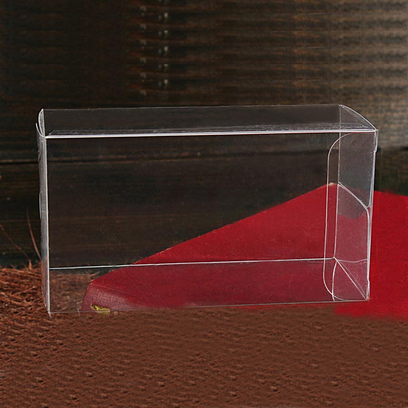 100pcs 5xWxH jewelry gift box clear boxes plastic box transparent storage pvc box packaging Display pvc