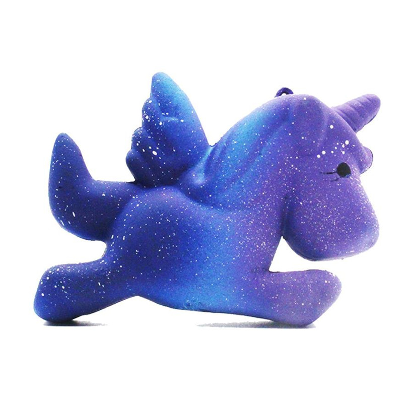 Cute kawaii Galaxy Unicorn Squishy stress reliever in toys Slow Rising Cartoon Doll Cream Scented Stress Relief Kid Fun Toy,Xm30