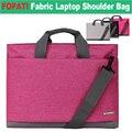Fopati 13 15 17 pulgadas portátil bolsa de hombro w/correa de mano del mensajero del bolso cartera de la tableta para ipad pro/laptop/macbook/ultrabook
