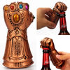 Creative Multipurpose Infinity Thanos Gauntlet Glove Beer Bottle Opener Fashionable Useful Soda Glass Cap Remover Tool Household