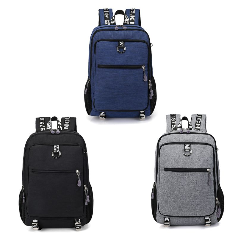 1Pc Men Multifunctional Casual Laptop Backpack School USB Charge Port Travel Bags Casual Daypack Bag Backpack Hot1Pc Men Multifunctional Casual Laptop Backpack School USB Charge Port Travel Bags Casual Daypack Bag Backpack Hot