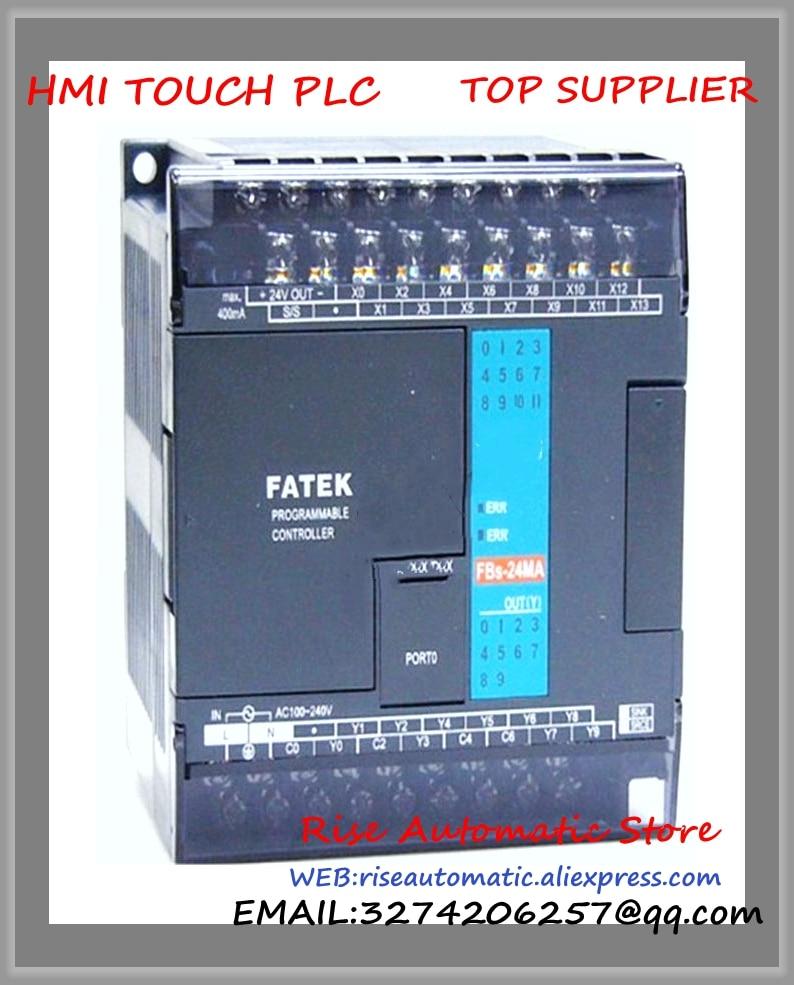 FBs-24MAT2-AC New Original PLC AC220V 14 DI 10 DO transistor Main Unit brand new original plc digital input 36 transistor output 24 system main unit 1 com fbs 60mct2 ac 24vdc