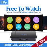 4K Movie TV Box IUDTV Subscription 3G 32G X92 Amlogic S912 Android 6 0 TV Box